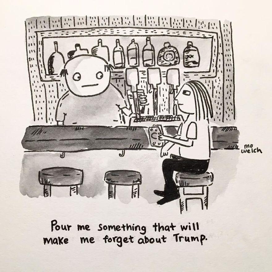 My Comics Are More Honest Since Trump Won