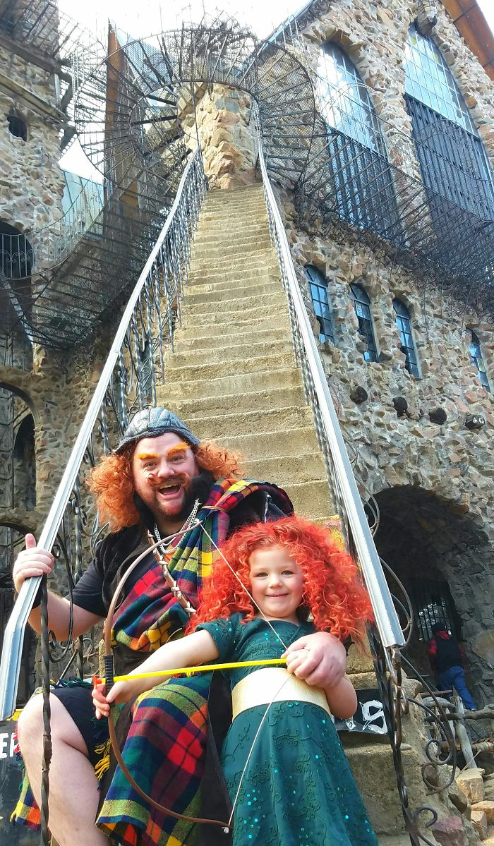 Greg Wickherst And Isabella - Princess Merida