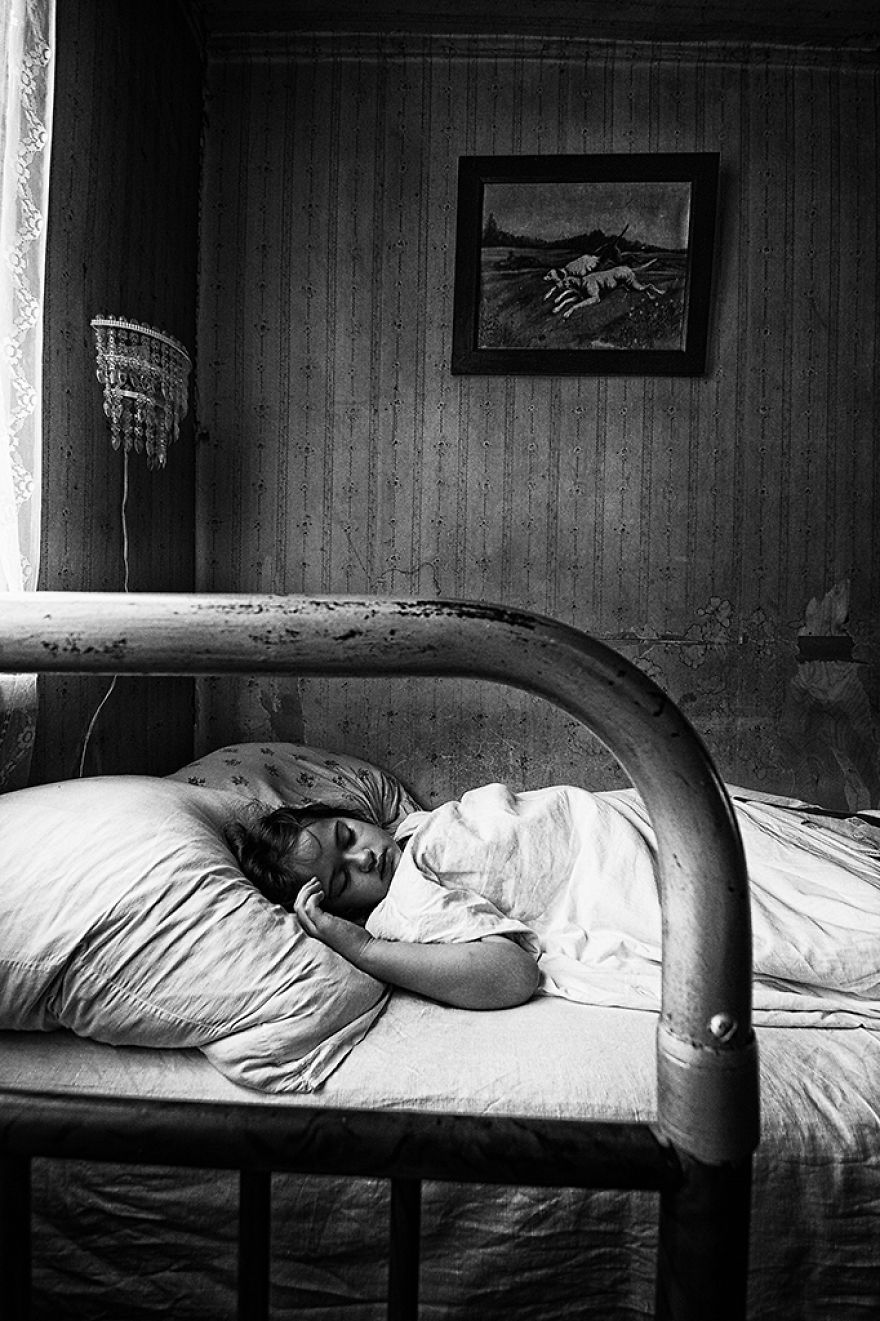 Sleeping By Olga Ageeva, Russia (2nd Place In The Portrait Category, Second Half)