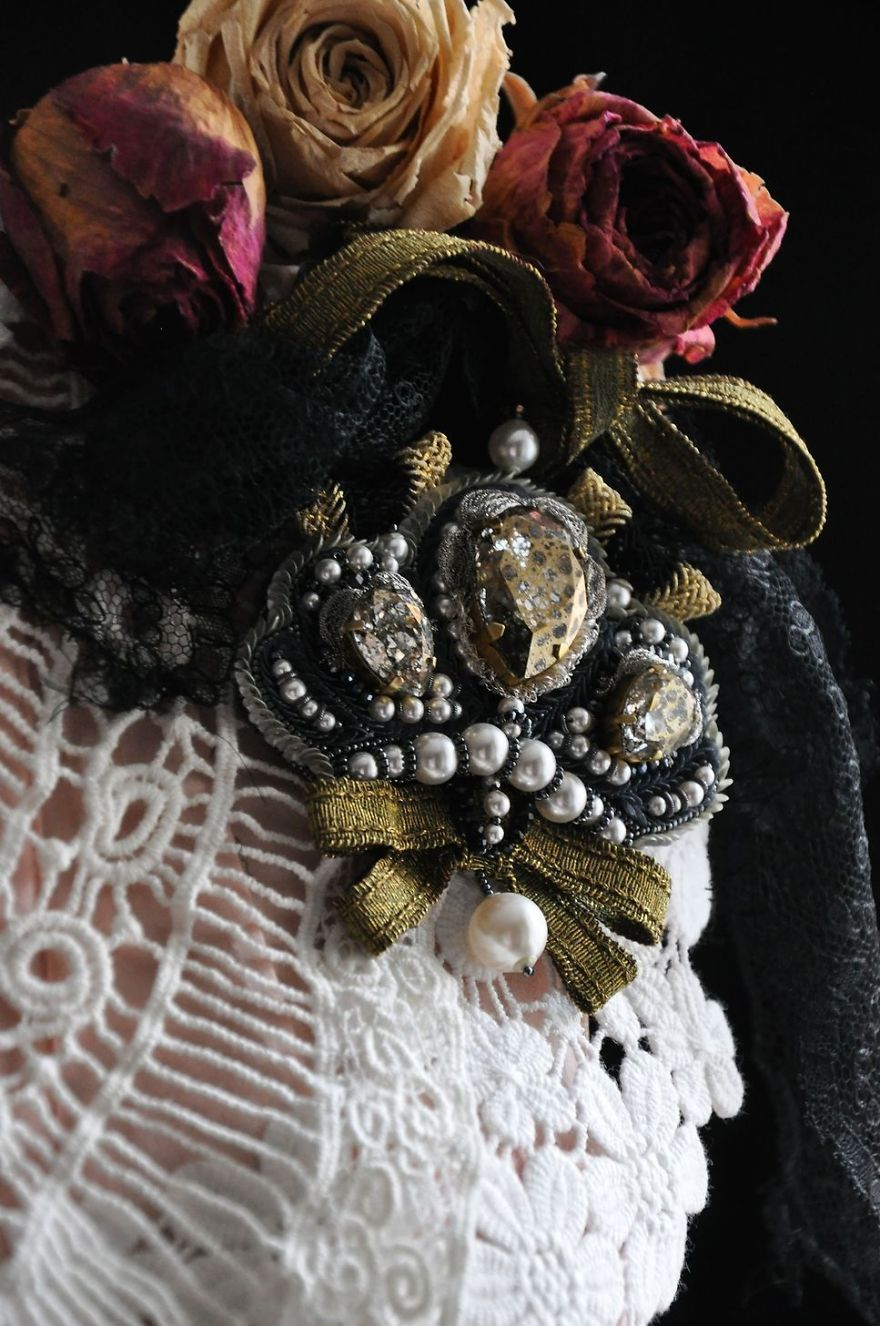 Splendid Rococo Jewellery To Live Life To The Fullest By Katrina Mayzengelter