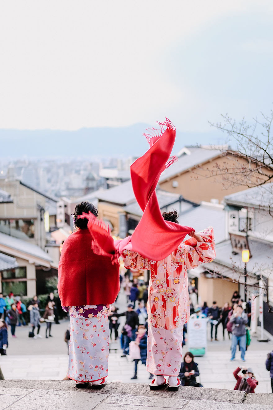 Lunar New Year's Day In Kyoto