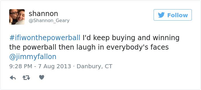 If I Won The Powerball