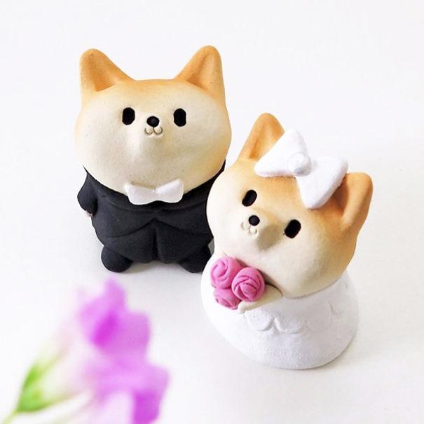 Shiba Inu Figurines
