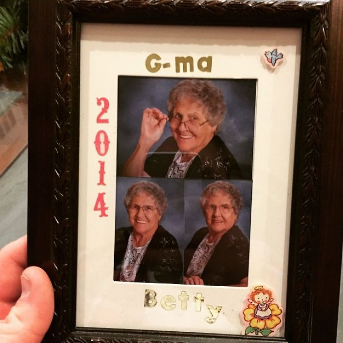 My Friends Grandma Or G-Ma Got Him This Present For Christmas