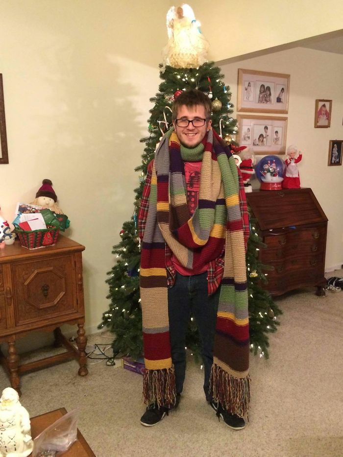 My Grandmother Made Me Some Scarf Thing