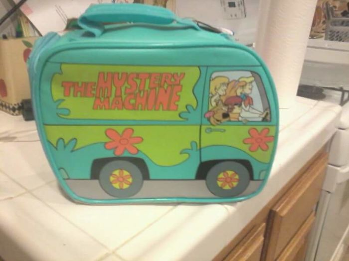 I Am 'Middle-Aged'. I Am 'A Professional' & I Only 'Dine Out' At Lunch. G'ma Has Alzhimers & This Lunchbox Is My Bday Gift. Thankyou Grandma, For Showing Me-I've Become 1 Of 'Those Kind' Of Assholes. I'll Proudly Be Taking My Scoobydoo Lunch Tomorrow!