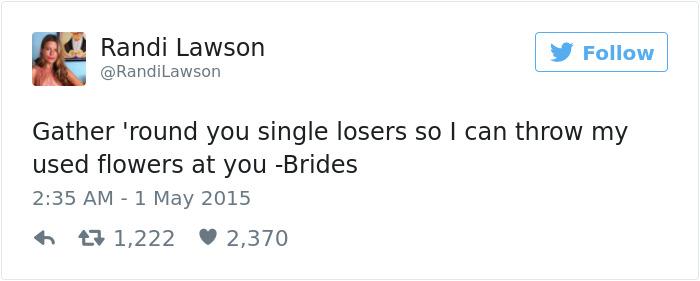 Single People Joke