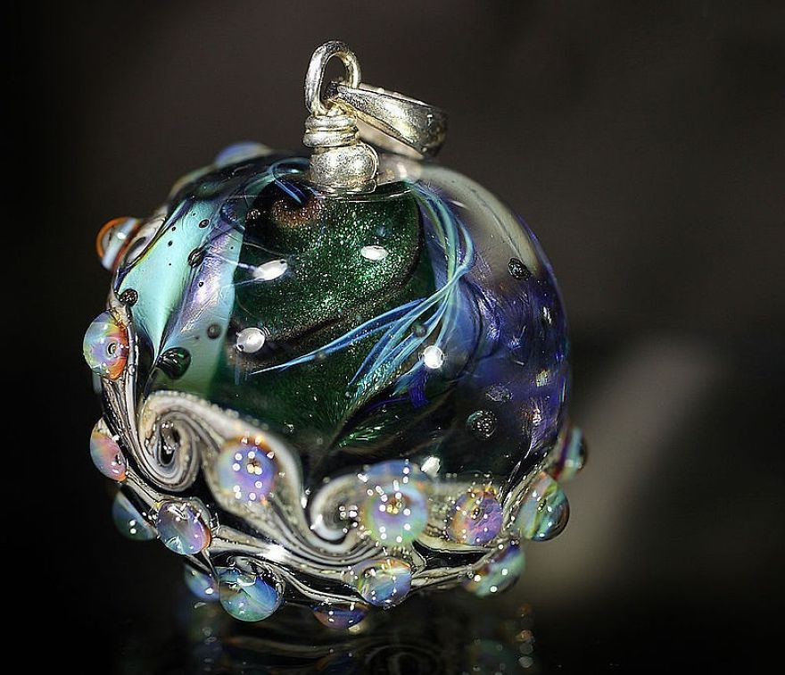 Cosmic Lampwork Jewellery By Marina Berulava