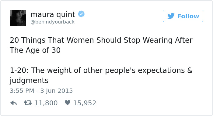Tweets About Being A Woman