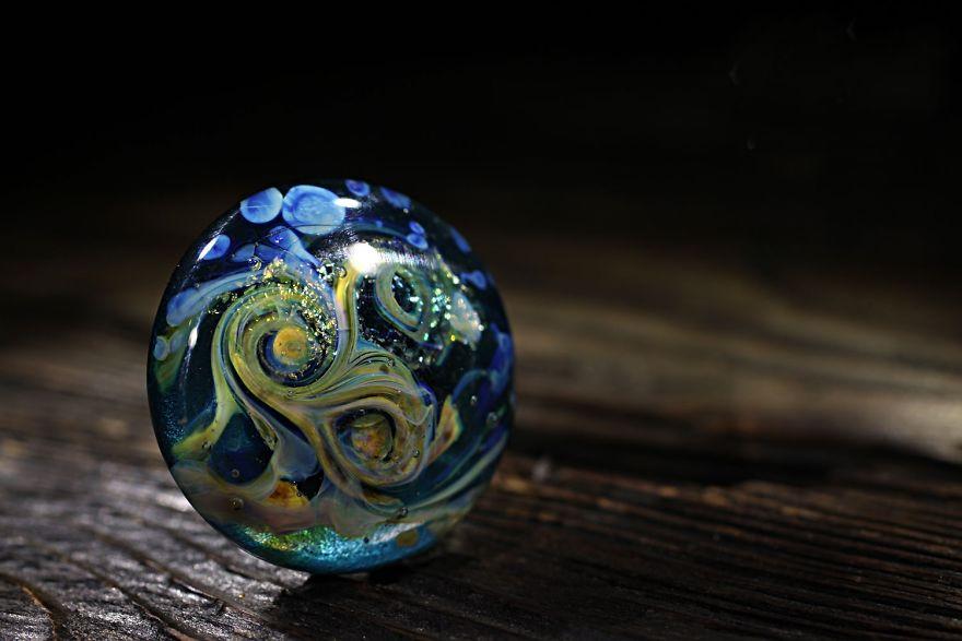 Cosmic Lampwork: Jewelry By Marina Berulava