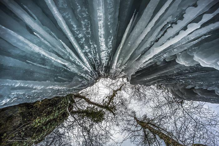 The Frozen World Of Thousand Waterfalls, Plitvice Lakes, Croatia