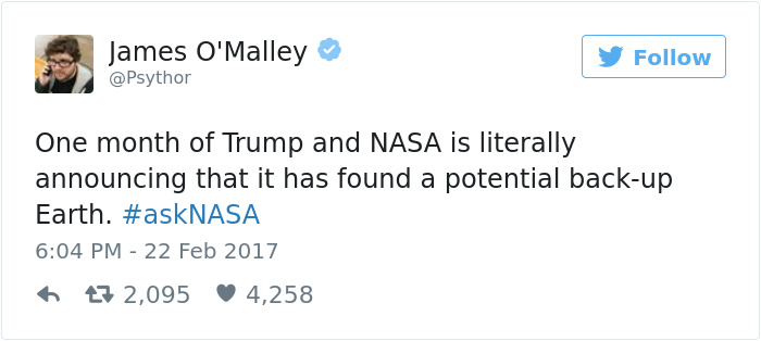Reactions To Nasa