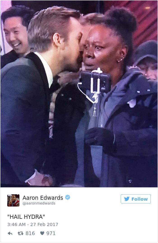 Whispering Ryan Gosling