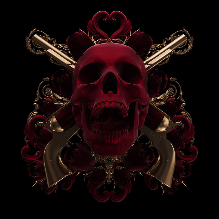 Morbid Attraction Illustrations: My Tattoo-Inspired Project Reimagined In 3D