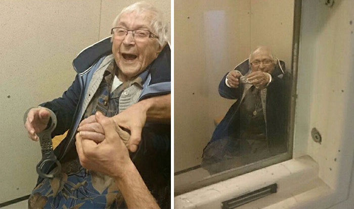 99-Year-Old Woman Gets Arrested And Put In Jail To Check It Off Her Bucket List