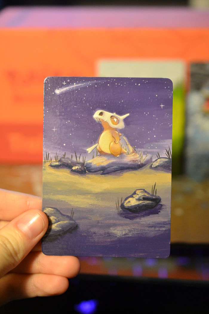 I Bring Old Pokemon Cards Back To Life By Repainting Them