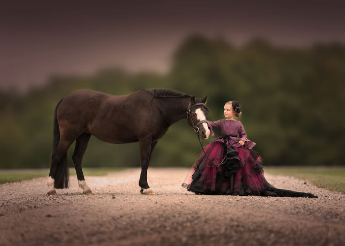 I Am A Mother, Photographer, And Equestrian. Everything I Am Inspired My New Photography Series Of My Daughter.