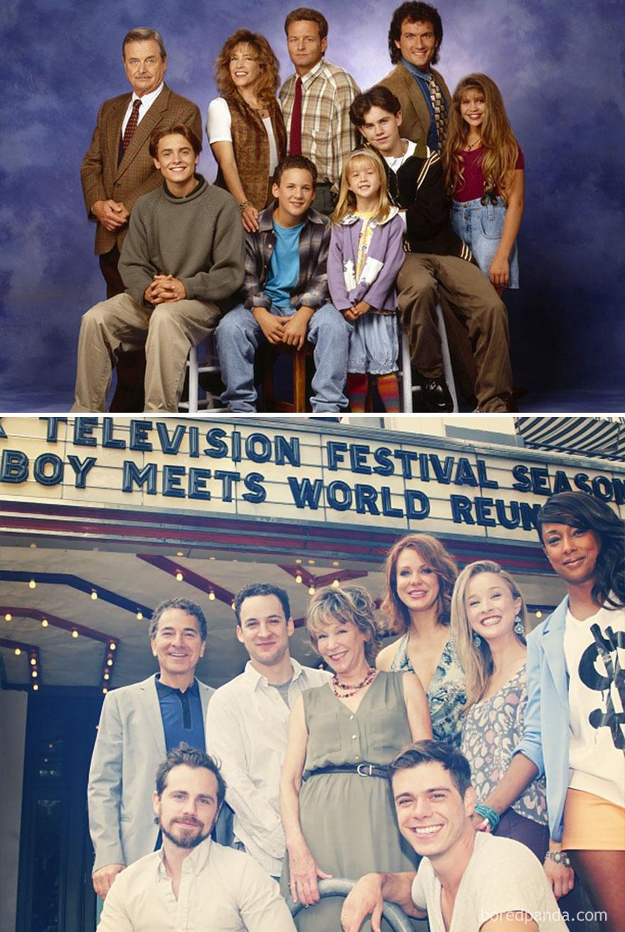 Boy Meets World: 1993 Vs. 2013