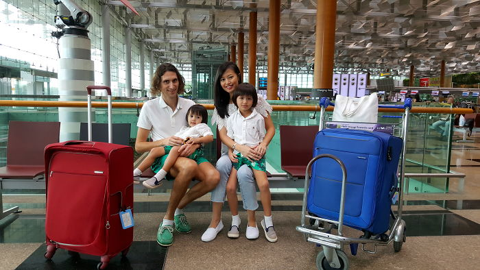 How My Family Of 4 Travel Around The World For Free On Biz Class Tickets Worth $54,000!