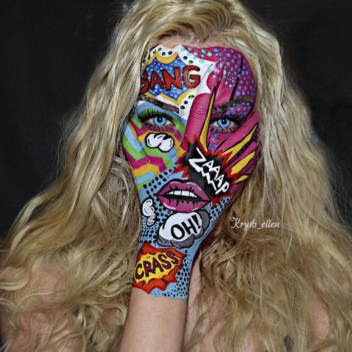 I Am An Artist That Cloaks My Hand Into The Majority Of My Art