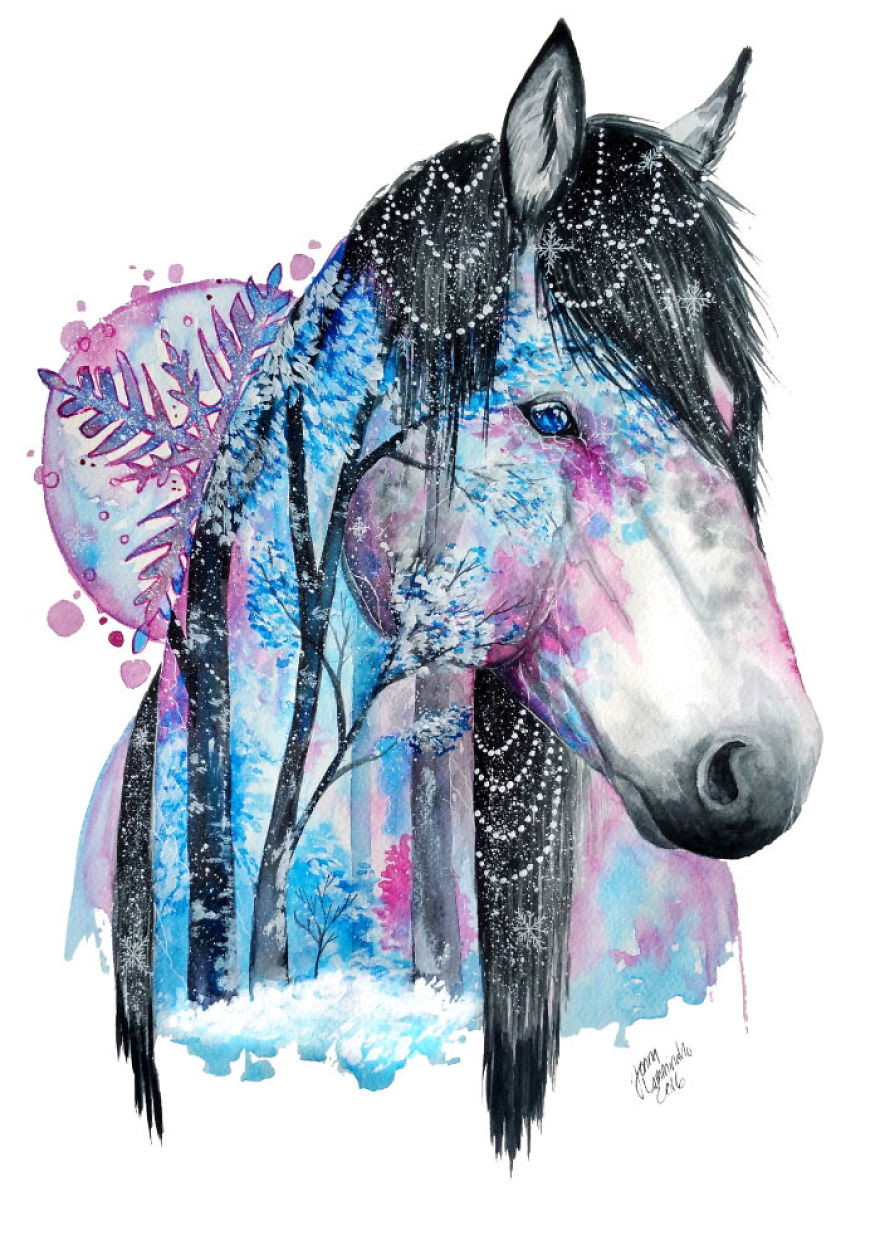 I Paint The Beauty I See In Animals To Remind Us To Preserve Nature