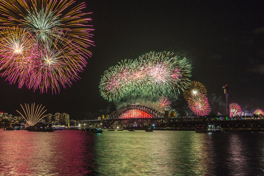 New Years Eve In Sydney, NSW
