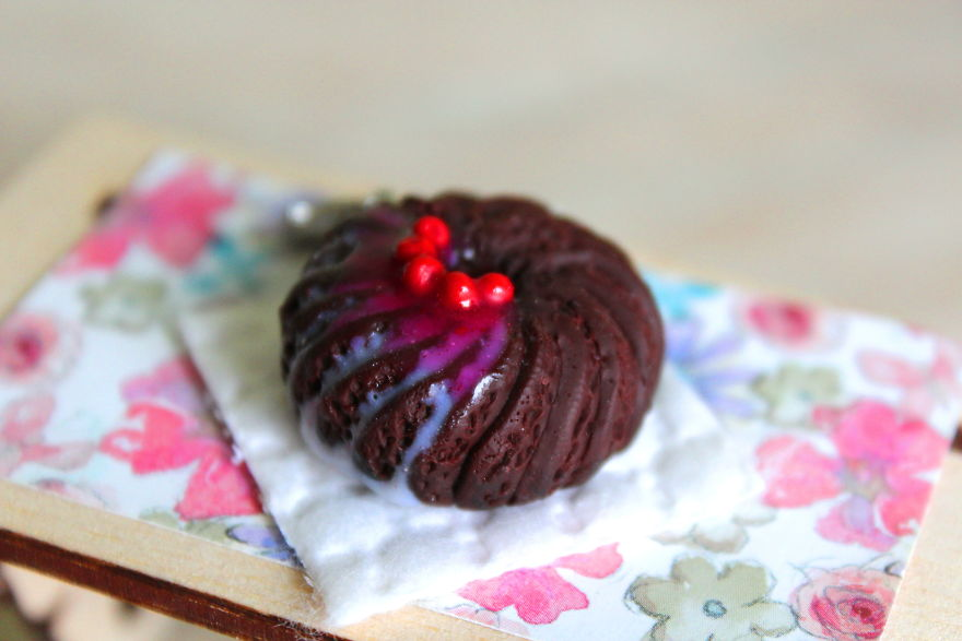 I Want To Make Everything Tasty By Creating Realistic Miniature Food Jewelry From Polymer Clay