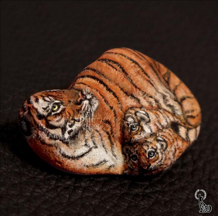 Tiger Mom & Baby