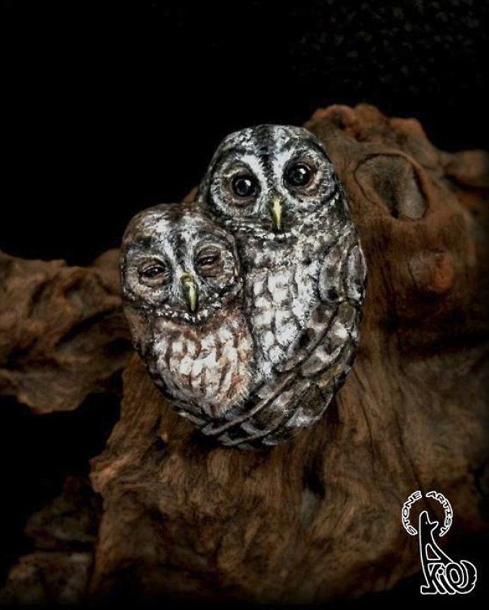 Tiny Loving Owl