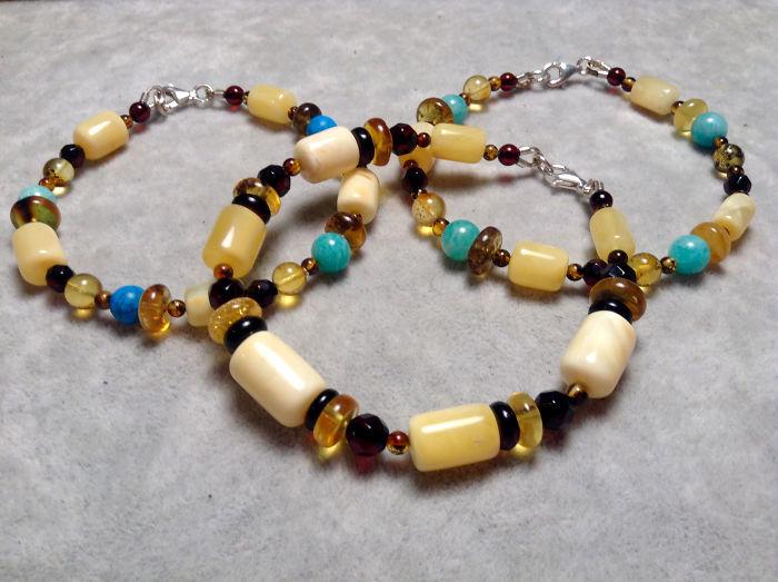 I Create Colorful Amber Jewellery