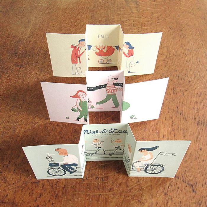 Креативные открытки i