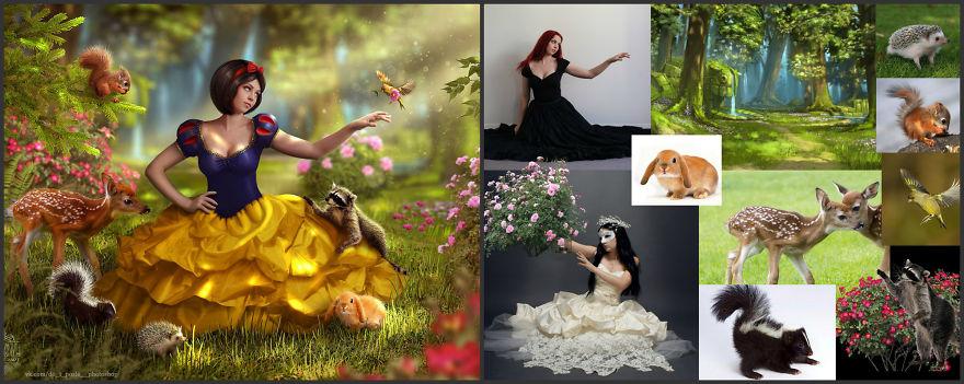 Viktoria Solidarnyh'ın inanılmaz Photoshop çalışmaları 5