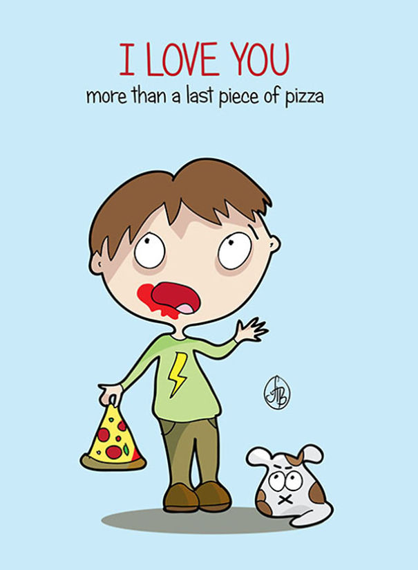 Its All About Love... Or Pizza