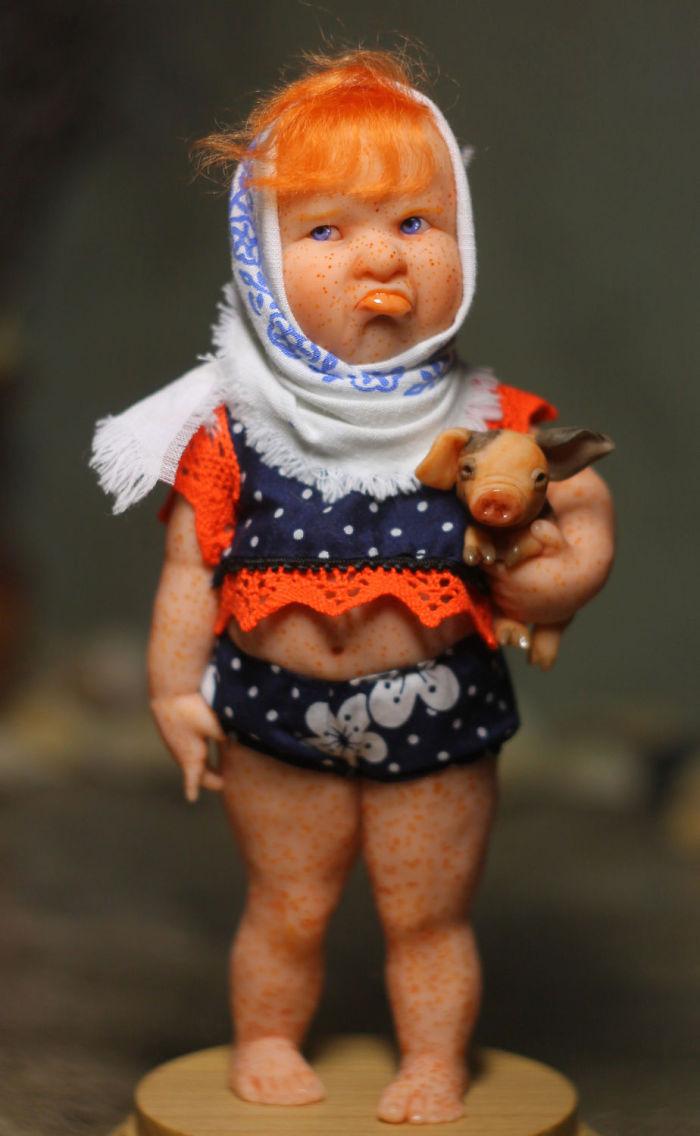Little Mom's Sunshine: Perfect Life-like Dolls By Elena Kirilenko