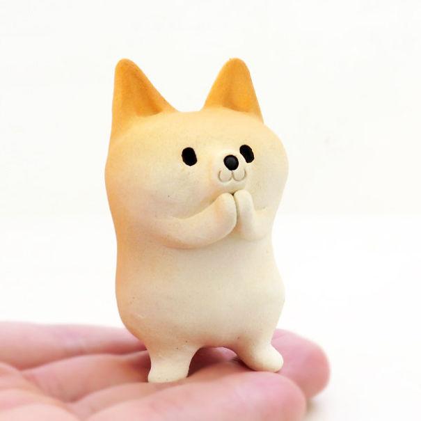 Shiba Inu Figurine