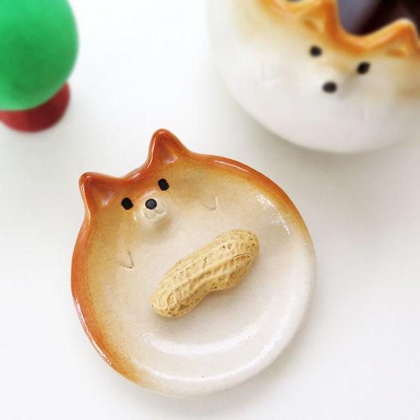 Shiba Inu Small Plate