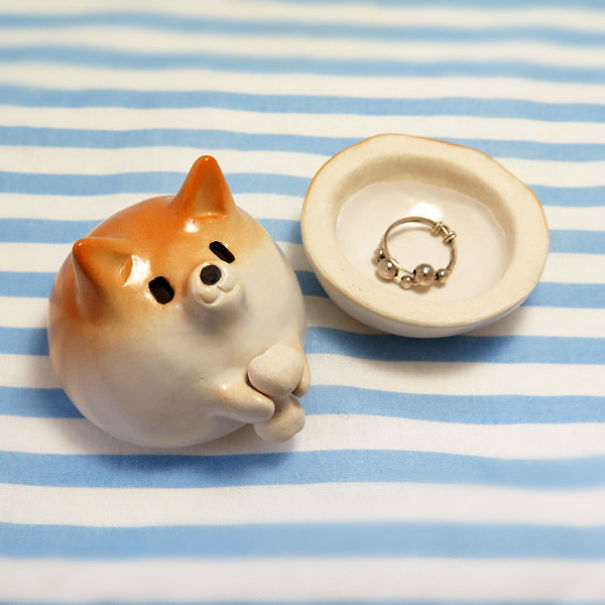 Shiba Inu Jewellery Box