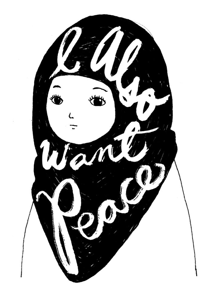 Mexican Artist Creates Cartoons For Peace All The Way From Her New Country, Canada