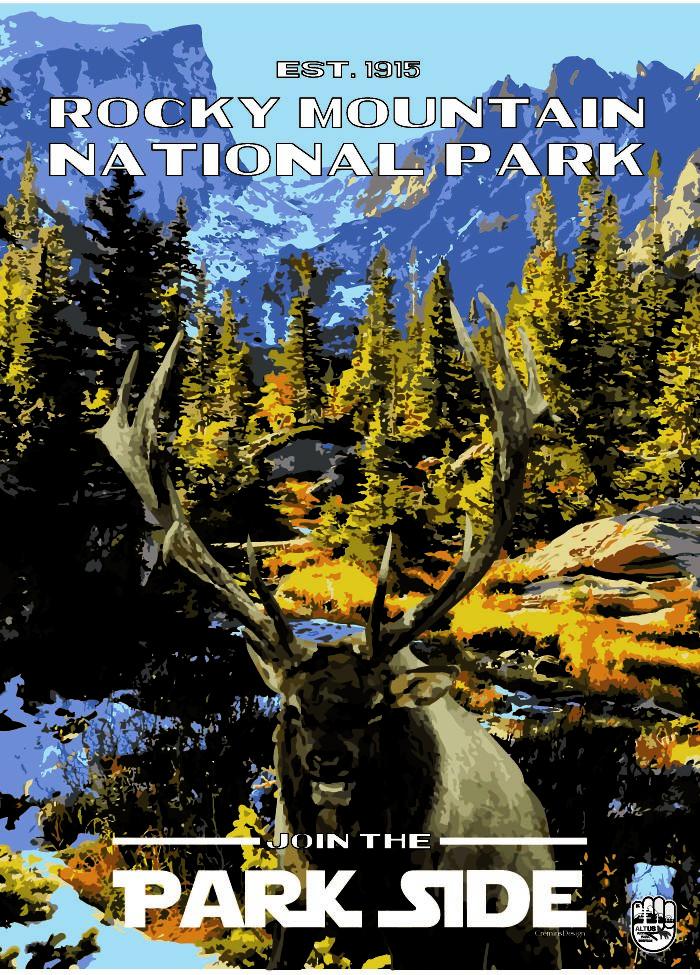 I Designed Alternative National Park Posters For Every National Park
