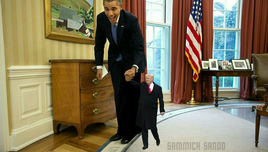 Playing With Obama