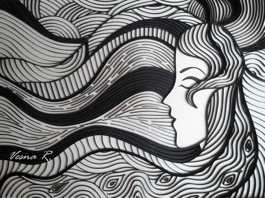 Quilling Art By Vesna Rikić