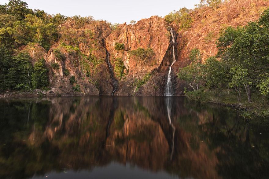 Wangii Falls In Litchfield National Park, NT
