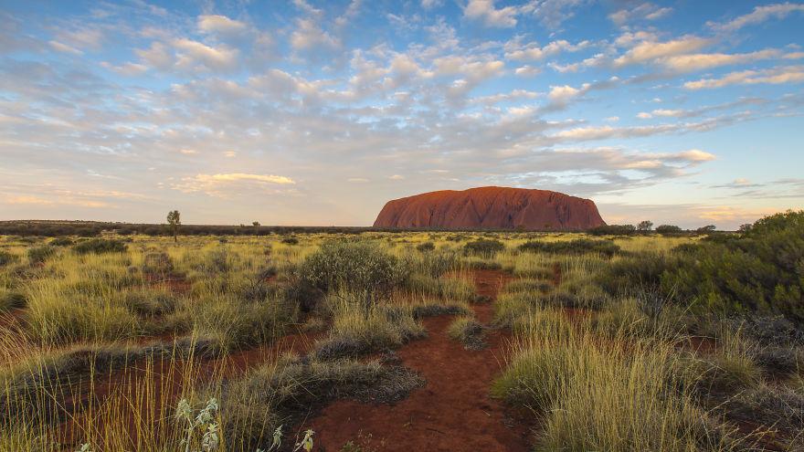 Uluru At Sunset, NT