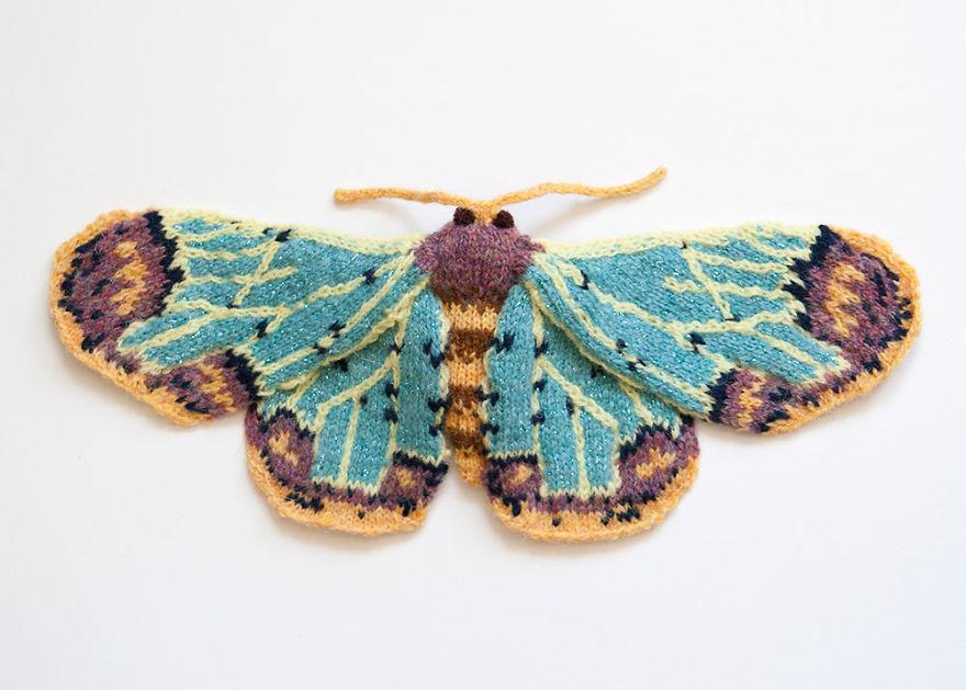 Zamarada Moth (Zamarada Scintillans)