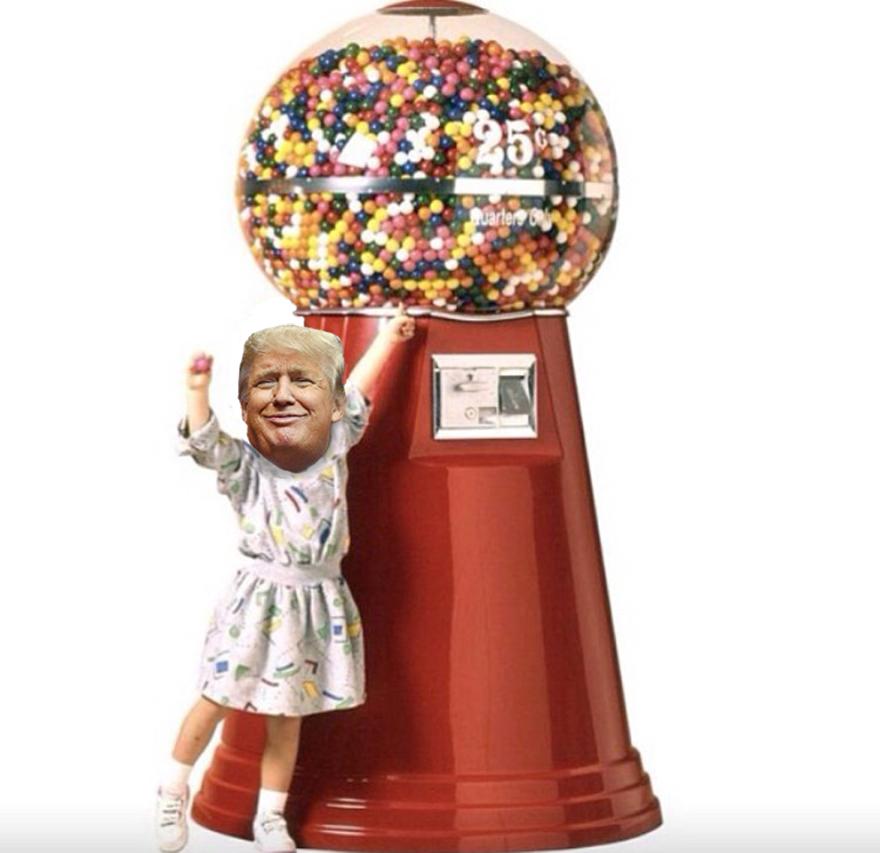 Lil'gumball Trump.
