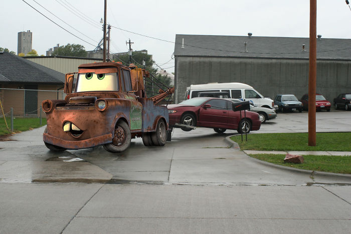 Sir Tow Mater Back To The Day Job