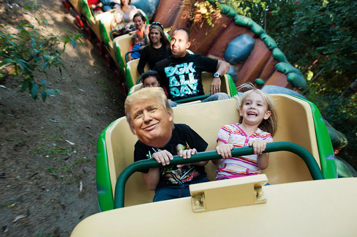 Lil Trump's Rollercoaster Ride From Hell