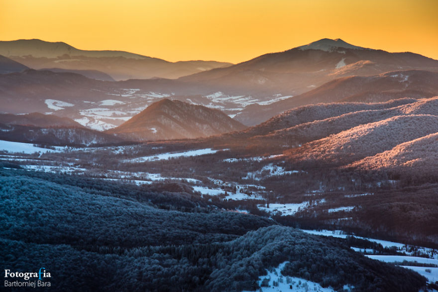 I Photographed Bieszczady National Park In Poland