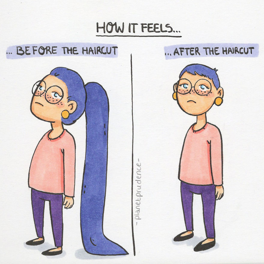 I Illustrate My Daily Problems As A Woman In Hilarious And Relatable Comics (8 Pics)