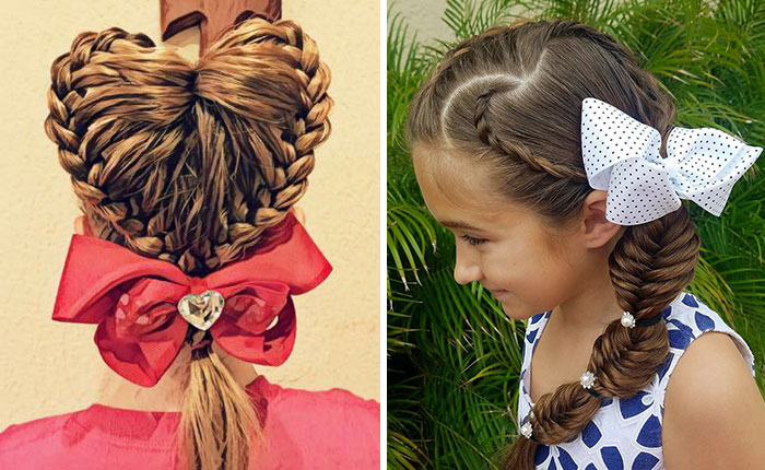 Dads Have A Heart-Shaped Braiding Competition And The Results Will Warm Your Heart